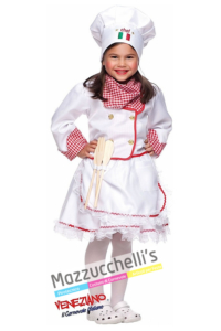 Costume Bambina Cuoca - Mazzucchellis