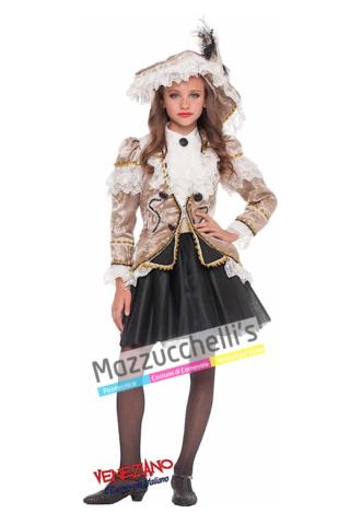 Costume Bambina Piratessa - Mazzucchellis