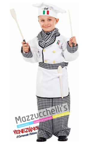 Costume Bambino Cuoco - Mazzucchellis