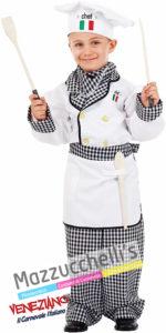 Costume Bambino Mestiere Cuoco