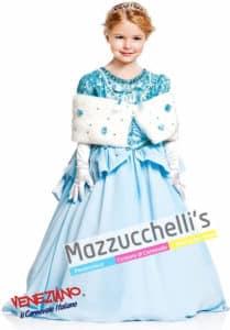 """costume da Bambina della elegante Principessa del Ballo """"CENERENTOLA"""