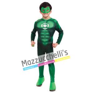Costume Supereroe Jordan Lanterna Verde - Ufficiale