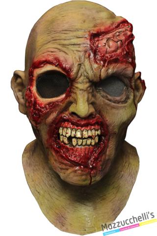 MASCHERA IN LATTICE MORPHDIGITALDUDZ WANDERING EYE ZOMBIE Halloween horror - Mazzucchellis