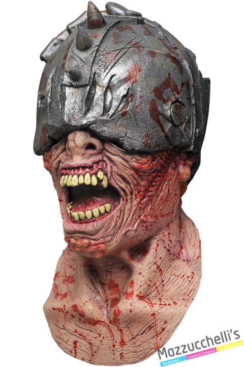 MASCHERA IN LATTICE WALDHAR WARRIOR halloween horror - Mazzucchellis