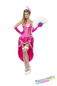 COSTUME donna SEXY BALLERINA BURLESQUE CARNEVALE HALLOWEEN O ALTRE FESTE A TEMA - Mazzucchellis