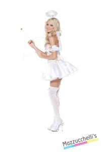 COSTUME donna sexy ANGELO BIANCO CARNEVALE HALLOWEEN O ALTRE FESTE A TEMA - Mazzucchellis