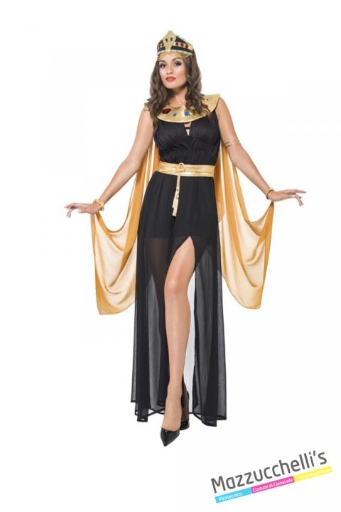 COSTUME donna sexy egiziana popolo del mondo CARNEVALE HALLOWEEN O ALTRE FESTE A TEMA - Mazzucchellis