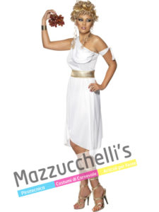 Costume Donna Carnevale da Dea Greca