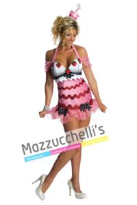 Costume Sexy Torta divertente sexy - Mazzucchellis