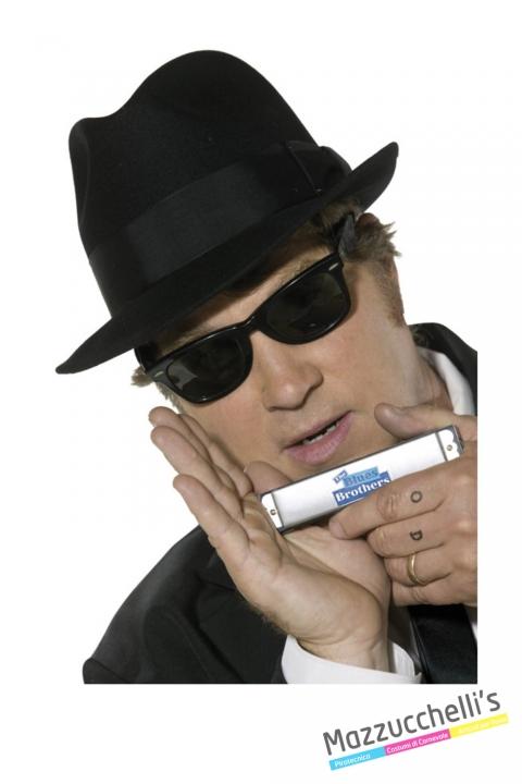 Kit Blues Brothers CARNEVALE HALLOWEEN O ALTRE FESTE A TEMA - Mazzucchellis