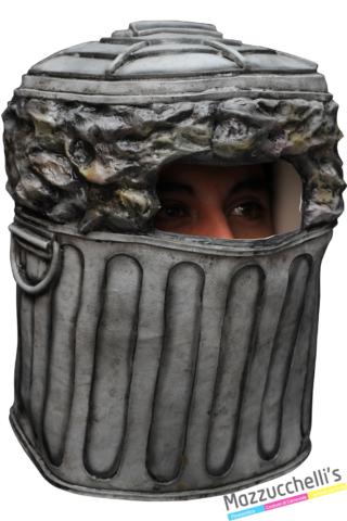 maschera trash can cestino - Mazzucchellis