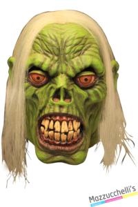MASCHERA IN LATTICE GREEN ZOMBIE horror halloween - Mazzucchellis