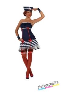 costume SEXY MARINARETTA donna carnevale halloween o altre feste a tema - Mazzucchellis