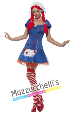 costume baby doll bambola - Mazzucchellis