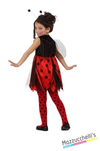 costume bambina animale coccinella carnevale halloween o altre feste a tema - Mazzucchellis