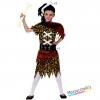 costume bambina cavernicola primitiva carnevale halloween o altre feste a tema - Mazzucchellis