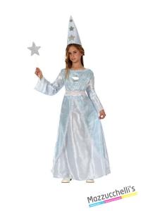costume bambina fatina azzurra carnevale halloween o altre feste a tema - Mazzucchellis