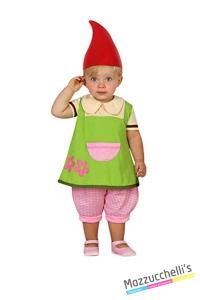 costume bambina neonata follettina carnevale halloween o altre feste a tema - Mazzucchellis