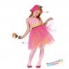 costume bambina simpatico fiore carnevale halloween o altre feste a tema - Mazzucchellis
