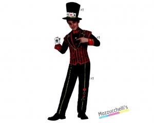 costume bambino giocatore poker carnevale halloween o altre feste a tema - Mazzucchellis