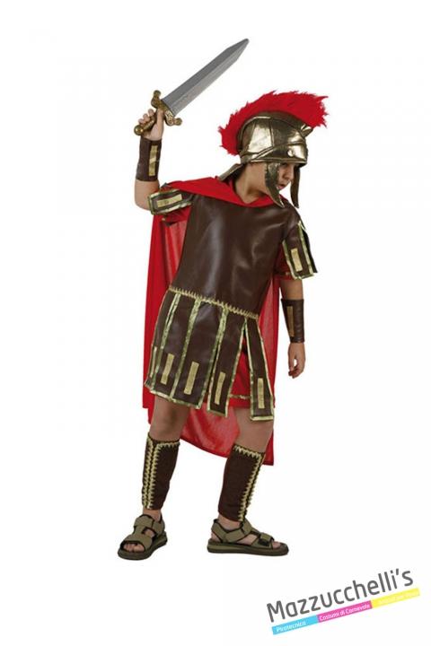 costume bambino guerriero romano carnevale halloween o altre feste a tema - Mazzucchellis