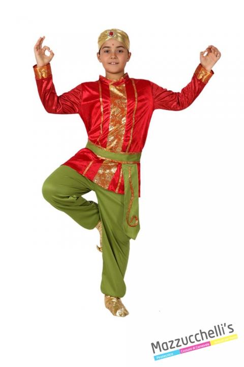 costume bambino indiani popoli del mondo carnevale halloween o altre feste a tema - Mazzucchellis