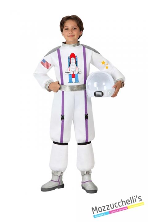 costume bambino mestieri astronauta spazio carnevale halloween o altre feste a tema - Mazzucch