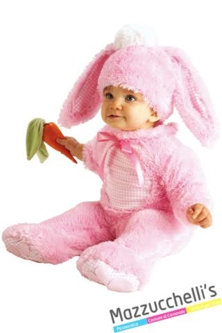 costume-bambino-neonato-animale-coniglio-rosa---Mazzucchellis