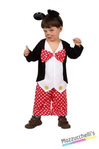 costume bambino neonato topolino mickey mouse carnevale halloween o altre feste a tema - Mazzucchellis