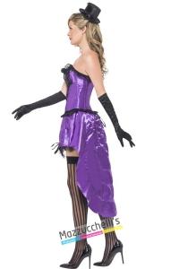 costume burlesque viola strega halloween , carnevale o altre feste a tema - Mazzucchellis