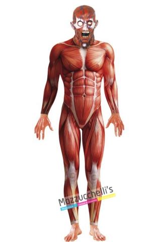 costume corpo umano carnevale halloween o altre feste a tema - Mazzucchellis