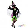 costume donna STREGA carnevale halloween o altre feste a tema - Mazzucchellis