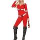 costume donna sexy pompiere carnevale halloween o altre feste a tema - Mazzucchellis