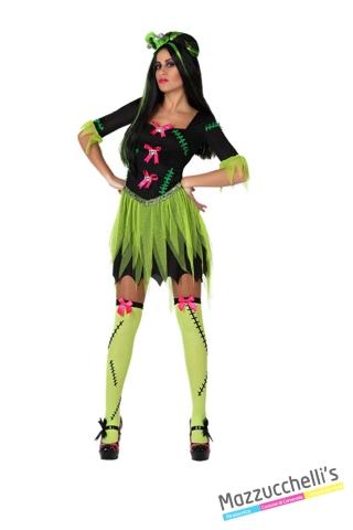costume sexy Frankenstein donna carneval