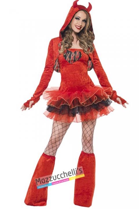 costumue sexy diavoletta halloween , carnevale o altre feste a tema - Mazzucchellis