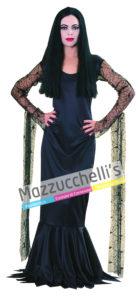 Il costume donna dalla fanfastica Morticia del Film Famiglia Addams