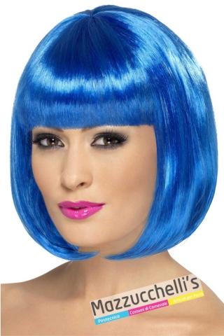 parrucca-caschetto-blu---Mazzucchellis