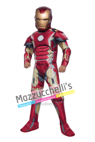 Costume Avengers Iron Man™ Muscoloso – Ufficiale Marvel - Mazzucchellis