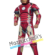 Costume Avengers Iron Man™ Muscoloso – Ufficiale Marvel - Mazzucchellis