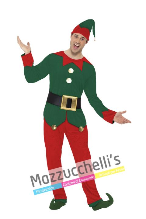 Costume Elfo Di Babbo Natale - Mazzucchellis