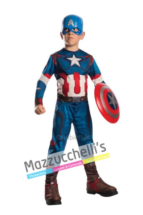Costume Ufficiale Classico Capitan America™ – Avengers - Mazzucchellis