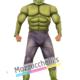 Costume Ufficiale Hulk™ Muscoloso – Avengers - Mazzucchellis
