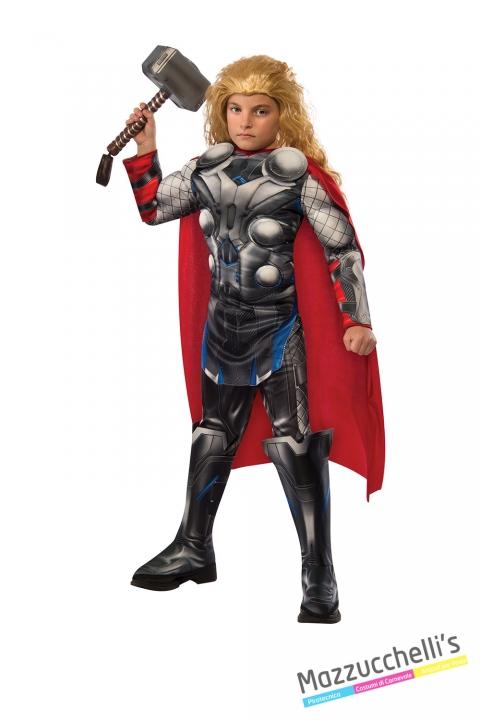 Costume bambino thor deluxe muscoloso avengers 2 CARNEVALE HALLOWEEN O ALTRE FESTE A TEMA - Mazzucchellis
