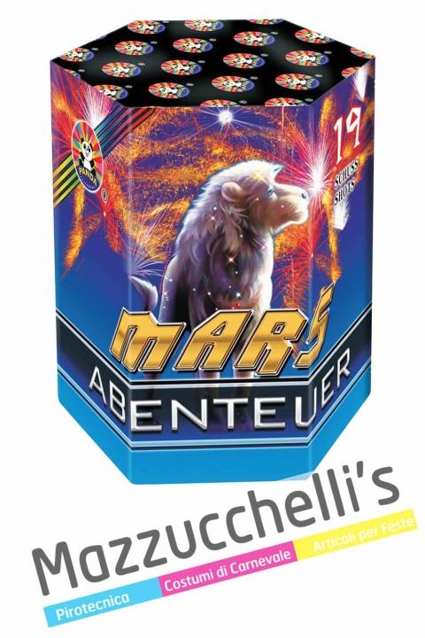 Spettacolo Pirotecnico MARS ABENTEUER FUOCHI ARTIFICIALI - Mazzucchelli's