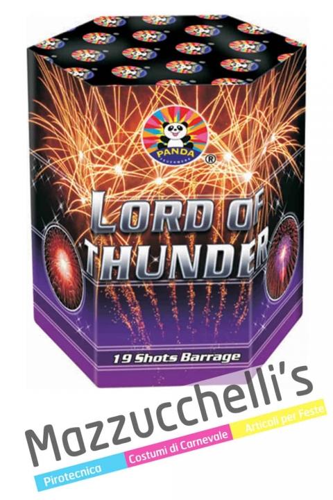 Spettacolo Pirotecnico lord of thunder FUOCHI ARTIFICIALI - Mazzucchelli's