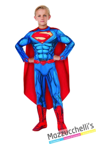 costume-bambino-supereroe-superman-ufficiale---Mazzucchellis