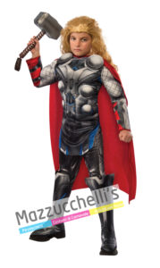 costume Bambino Licenza Ufficiale Marvel Comics da Avengers Supereroe Thor™ Deluxe