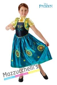 Costume bambina Anna di Frozen – Ufficiale Disney™ - Mazzucchellis