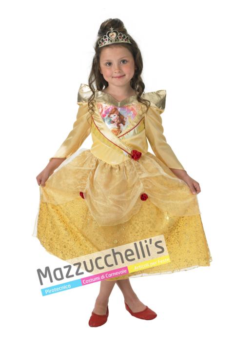 Costume Principessa Bella – Ufficiale Disney™ - Mazzucchellis
