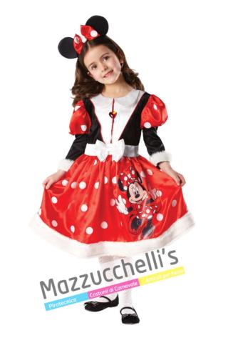 Costume Topolina Bambina – Ufficiale Disney™ - Mazzucchellis